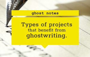 blog featured image-ghostwriting projects