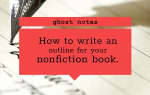 blog featured image - outlining your book